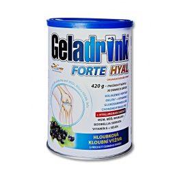 Orling Geladrink Forte HYAL 420 g příchuť černý rybíz