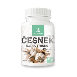 Allnature Česnek 1500 mg 100 tbl.