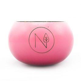 Natu Kokosová miska růžová