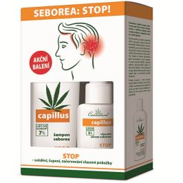 Cannaderm Cannaderm DUO-pack Capillus šampon + sérum seborea