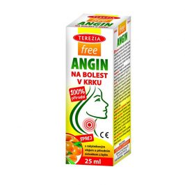 Terezia Company FreeANGIN sprej na bolest v krku 25 ml