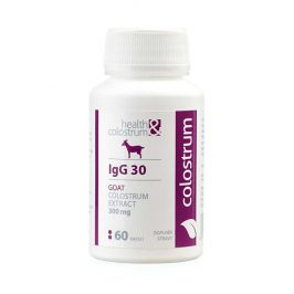 Health&colostrum Kozí colostrum IgG 30 (300 mg) 60 kapslí
