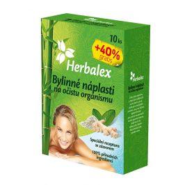 Herbamedicus Detoxikační náplastí s konopím 10 ks + 40% GRATIS
