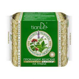 tianDe Dámské bylinné menstruační vložky Nefritová svěžest - denní super 10 ks