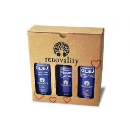 Renovality Dárkový balíček - Levandulový, Arganový olej a Hyaluronové sérum