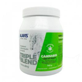Alavis ALAVIS TRIPLE BLEND Extra silný + Cannabis CBD Extrakt 700 g