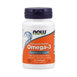 NOW Omega 3 1000mg 30 tobolek