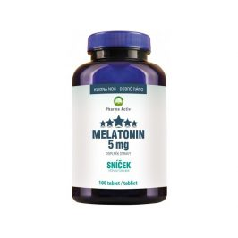 Pharma Activ Melatonin 5mg Sníček 100 tablet