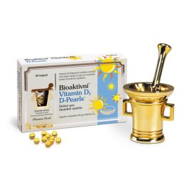 Pharma Nord Bioaktivní Vitamin D3 D-Pearls 80 tobolek