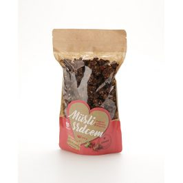 Topnatur Müsli Belgická čokoláda & brusinky 350 g