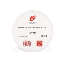 Bebutter Bebutter Šlehané Bio bambucké máslo GREP 50 ml CPK bio