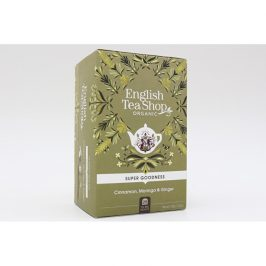 English Tea Shop Skořice, moringa a zázvor Super Veggie Tea 20 sáčků