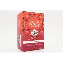 English Tea Shop Červená řepa, zázvor a listy curry Super Veggie Tea 20 sáčků