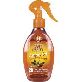SUN Opalovací mléko s arganovým olejem OF 20 rozprašovací 200 ml