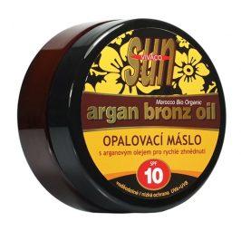 SUN Opalovací máslo Argan bronz oil OF 10 200 ml