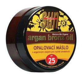 SUN Opalovací máslo Argan oil OF 25 200 ml