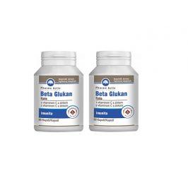 Pharma Activ Beta Glukan Forte vitamín C a zinek 60 tablet 1+1
