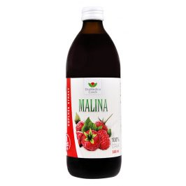 EkoMedica Czech Šťáva Malina 100% 500 ml