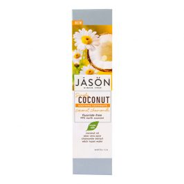 JASON Zubní pasta simply coconut zklidňující s heřmánkem 119 g