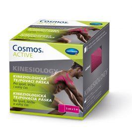 Cosmos Cosmos Active - Kinezio tejp. páska růžová 5 cm x5 m