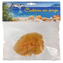 BELLINI Karibská přírodní mořská houba – SVĚTLÁ 14 - 15 cm