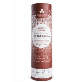 BEN & ANNA Tuhý deodorant BIO 60 g - Severské dřevo