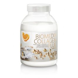 Biomedix Biomedix Collagen Plus 400 g - pomeranč