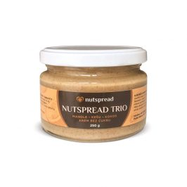Nutspread 100% oříškové máslo Nutspread  Trio ze tří druhů ořechů 250 g