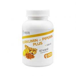 Vieste Kurkumin - piperin plus 60 tablet