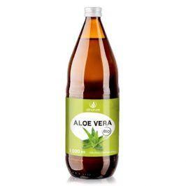 Allnature Aloe vera - 100% Bio šťáva 1 l - SLEVA - poničená etiketa