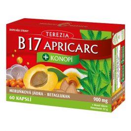 Terezia Company B17 APRICARC + Konopí 60 pastilek