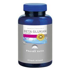Pharma Activ Beta Glukan 1,3/1,6 D, 60 kapslí