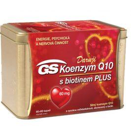 GS Koenzym Q10 60 mg Plus 120 kapslí