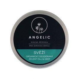 Angelic Angelic Svěží organický deodorant zelený čaj & grep 50 ml