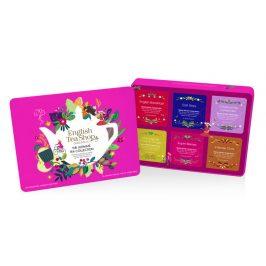 English Tea Shop Plechová kazeta červená klasik, 36 nál. sáčků