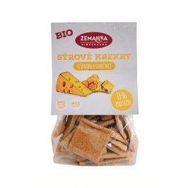 Biopekárna Zemanka Bio Špaldové krekry se sýrem a slunečnicí 100 g
