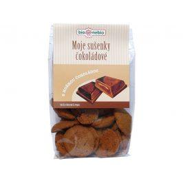 Bio nebio s. r. o. Bio Moje sušenky čokoládové 130g