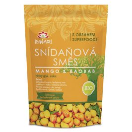Iswari BIO Snídaňová směs Mango-Baobab 300 g