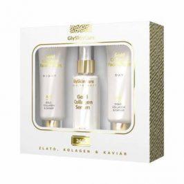 Biotter Pharma Zlatá sada krém na obličej se zlatem denní 50 ml + noční 50 ml + sérum 50 ml