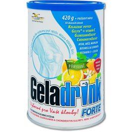 Orling Geladrink Forte nápoj 420 g Pomeranč