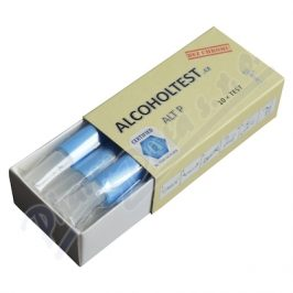 Tejas Alkohol Test P - sada 10 ks detekčních trubiček