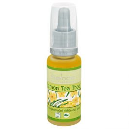 Saloos Bio regenerační obličejový olej - Lemon tea tree 20 ml
