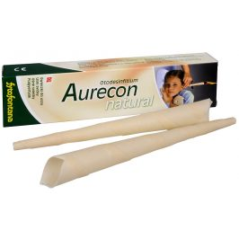 Herb Pharma Aurecon ušní svíčky Natural 2 ks