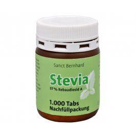 Allnature Stevia tablety 1000 tbl. náhradní náplň