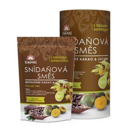 Iswari BIO snídaňová směs Nepražené kakao a lucuma 3,2 kg