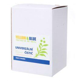 Yellow & Blue Univerzální čistič pro domácnost z mýdlových ořechů s přírodní pomerančovou silicí 5 l
