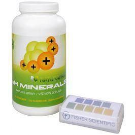 Sada Na Překyselení organismu - Indikátorové pH papírky (5,0-9,0) 200 ks + PH Minerals na odkyselení organismu 320 g