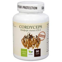 Natural Medicaments Cordyceps Premium 90 kapslí