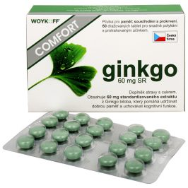 Woykoff Ginkgo Comfort 60 mg SR 60 tbl.