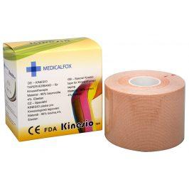 Medicalfox Tejpovací páska Kinezio 5 cm x 5 m Béžová (natural)